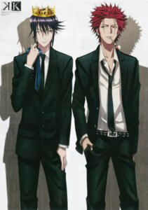 Rating: Safe Score: 8 Tags: ishimori_ai k male megane munakata_reisi smoking suou_mikoto User: Radioactive