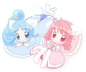 Rating: Safe Score: 4 Tags: animal_ears chibi dress fine fushigiboshi_no_futago_hime fushigiboshi_no_futago_hime_gyu mirai nekomimi pantyhose rein tail User: Manabi