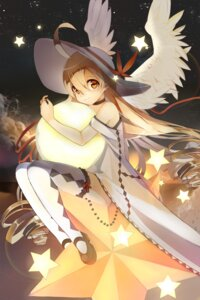 Rating: Safe Score: 42 Tags: devil_maker:_tokyo dress rhea thighhighs wings User: charunetra