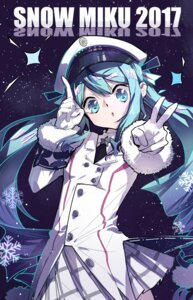 Rating: Safe Score: 19 Tags: hatsune_miku uniform vocaloid yuki_miku yyb User: charunetra