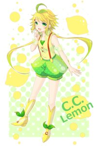 Rating: Safe Score: 8 Tags: c.c._lemon c.c._lemon_(character) sobapouro User: Nekotsúh