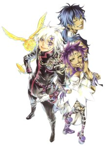 Rating: Safe Score: 9 Tags: allen_walker d.gray-man hoshino_katsura road_kamelot tyki_mikk User: Radioactive