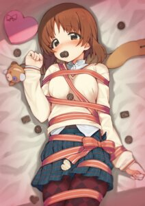 Rating: Safe Score: 46 Tags: araki_mitsuru bondage girls_und_panzer nishizumi_miho pantyhose seifuku sweater valentine User: Mr_GT