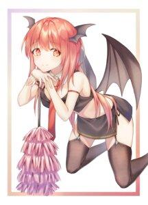 Rating: Safe Score: 28 Tags: cha_chya koakuma stockings thighhighs touhou wings User: BattlequeenYume