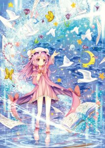 Rating: Safe Score: 35 Tags: catbell patchouli_knowledge touhou User: itsu-chan