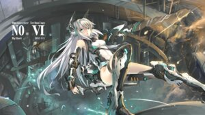 Rating: Safe Score: 42 Tags: animal_ears ass gun huali leotard mecha_musume sword weapon wings User: Kaixa