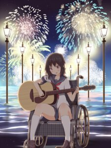 Rating: Safe Score: 36 Tags: guitar numpopo seifuku User: saemonnokami