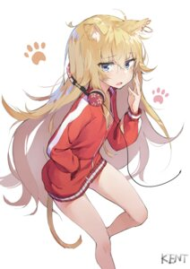 Rating: Safe Score: 58 Tags: animal_ears gabriel_dropout headphones kentia nekomimi tail tenma_gabriel_white User: Anemone
