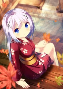 Rating: Safe Score: 50 Tags: chinomaron gochuumon_wa_usagi_desu_ka? kafuu_chino kimono wet User: Mr_GT