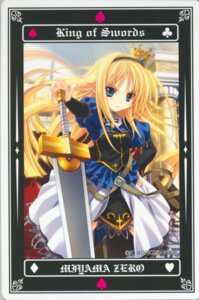 Rating: Safe Score: 14 Tags: miyama-zero sword tarot User: Radioactive