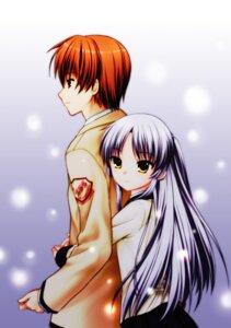 Rating: Safe Score: 27 Tags: 467 angel_beats! otonashi seifuku tenshi User: fireattack