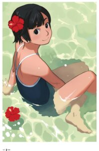 Rating: Safe Score: 18 Tags: feet school_swimsuit swimsuits takamichi wet User: Radioactive