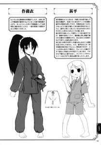 Rating: Safe Score: 2 Tags: kobanya_koban monochrome User: crim