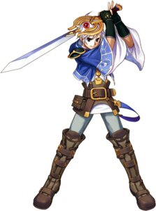 Rating: Safe Score: 3 Tags: atelier atelier_iris atelier_iris:_eternal_mana_2 felt_blanchimont futaba_jun gust_(company) male sword User: Radioactive