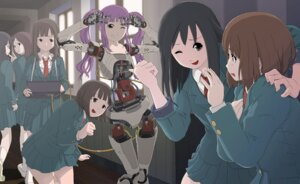 Rating: Safe Score: 12 Tags: mecha_musume seifuku sukabu User: Radioactive