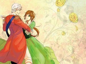 Rating: Safe Score: 4 Tags: dress hetalia_axis_powers hungary prussia tokino_(race0018) User: Radioactive