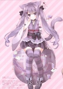 Rating: Questionable Score: 46 Tags: animal_ears hoshi lolita_fashion nekomimi tagme tail thighhighs wa_lolita User: Radioactive