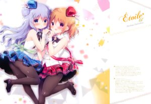 Rating: Safe Score: 46 Tags: gochuumon_wa_usagi_desu_ka? heels hoto_cocoa kafuu_chino shiratama shiratamaco tail User: kiyoe