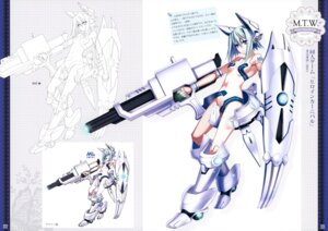 Rating: Questionable Score: 30 Tags: android_(heroine_carnival) cleavage gun mecha mecha_musume riv soloist User: Riven