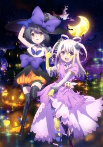 Rating: Safe Score: 48 Tags: bandages bike_shorts cleavage dress fate/kaleid_liner_prisma_illya fate/stay_night halloween illyasviel_von_einzbern miyu_edelfelt thighhighs torn_clothes witch User: drop
