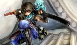 Rating: Safe Score: 7 Tags: conjaku kisuke male oboro_muramasa sword User: Rhekshi-Ehki