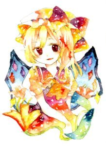 Rating: Safe Score: 4 Tags: flandre_scarlet legomaru touhou User: yumichi-sama