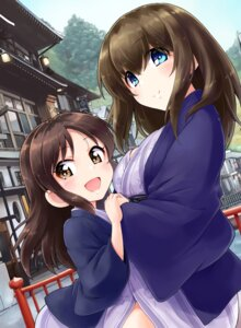 Rating: Safe Score: 17 Tags: sagisawa_fumika satogo tachibana_arisu the_idolm@ster the_idolm@ster_cinderella_girls yukata User: fairyren