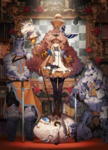 Rating: Safe Score: 32 Tags: alice armor dress gun ryota-h stockings sword thighhighs through_the_looking_glass User: Mr_GT