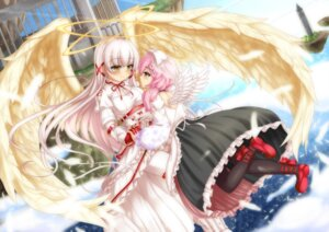 Rating: Safe Score: 40 Tags: dress merc_storia pantyhose playjoe2005 wings User: Mr_GT