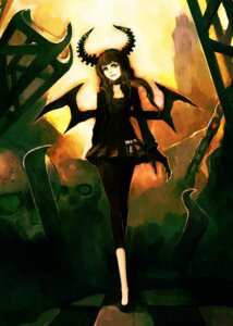 Rating: Safe Score: 20 Tags: black_rock_shooter dead_master hironox vocaloid wings User: charunetra