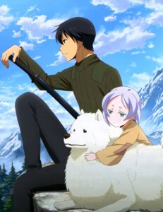 Rating: Safe Score: 14 Tags: kino_no_tabi riku_(kino_no_tabi) shizu sword tifana User: drop