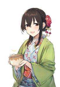 Rating: Safe Score: 40 Tags: duoyuanjun fujiwara_hajime kimono the_idolm@ster the_idolm@ster_cinderella_girls User: charunetra
