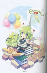 Rating: Safe Score: 4 Tags: animal_ears binding_discoloration greenwood ikusabe_lu midori nekomimi User: cheese