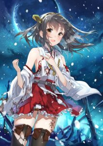 Rating: Safe Score: 55 Tags: haruna_(kancolle) kantai_collection no_bra thighhighs torn_clothes yunco User: blooregardo