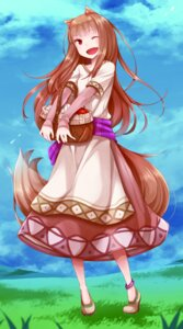 Rating: Safe Score: 33 Tags: animal_ears dress holo spice_and_wolf tagme tail User: saemonnokami