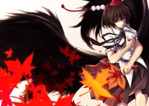 Rating: Safe Score: 16 Tags: kito_bn shameimaru_aya touhou User: Radioactive