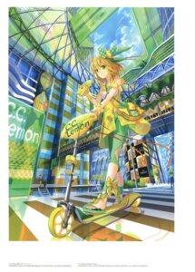 Rating: Safe Score: 21 Tags: c.c._lemon c.c._lemon_(character) fuzichoko see_through User: fireattack