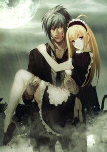 Rating: Safe Score: 37 Tags: anna blood carnevale_della_luce_della_luna maid oosaki_shinya romeo User: midzki