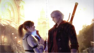 Rating: Safe Score: 4 Tags: crease devil_may_cry kyrie nero screening User: charunetra