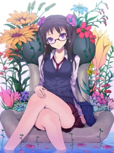 Rating: Safe Score: 75 Tags: kasai_shin megane seifuku User: Radioactive