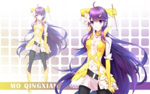 Rating: Safe Score: 23 Tags: cleavage kurisu_tina mo_qingxian pantyhose vocaloid wallpaper User: charunetra