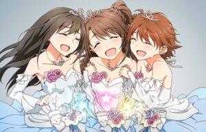 Rating: Safe Score: 19 Tags: cleavage dress honda_mio shibuya_rin shimamura_uzuki tagme the_idolm@ster the_idolm@ster_cinderella_girls User: saemonnokami