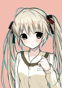 Rating: Safe Score: 26 Tags: blue kasugano_sora seifuku yosuga_no_sora User: Radioactive
