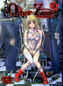 Rating: Questionable Score: 24 Tags: bandages blood dizzy_(other_zone) naked nanno_koto other_zone studio_pal User: beitiao