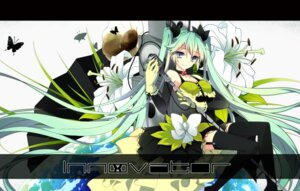 Rating: Safe Score: 32 Tags: hatsune_miku ponjiritsu stockings thighhighs vocaloid wallpaper User: hirotn