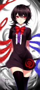 Rating: Safe Score: 25 Tags: dress houjuu_nue sheya thighhighs touhou wings User: Mr_GT