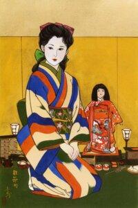 Rating: Safe Score: 4 Tags: kimono screening yamada_akihiro User: Umbigo
