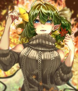 Rating: Safe Score: 9 Tags: daiyousei lunateelf pointy_ears sweater touhou wings User: Mr_GT