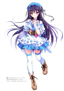 Rating: Safe Score: 62 Tags: riv soloist thighhighs waitress User: blooregardo