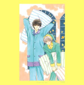 Rating: Safe Score: 3 Tags: card_captor_sakura clamp kinomoto_touya tsukishiro_yukito User: Omgix